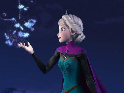 Fotograma de 'Frozen', una de las películas más taquilleras del mundo en 2013.