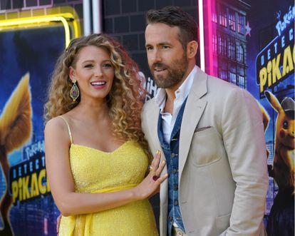 Ryan Reynolds y Blake Lively en un estreno en Nueva York, en 2019.