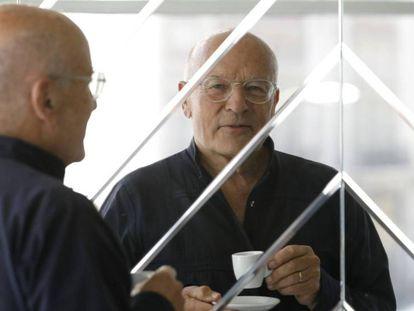 El director de cine alemán Volker Schlöndorff, el pasado 5 de julio en Madrid | Tráiler
