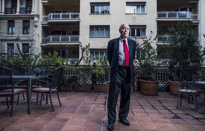 El exministro de Asuntos Exteriores, José Manuel García Margallo, el pasado viernes en su casa de Madrid.