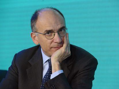 Enrico Letta, en una imagen del pasado enero.