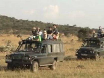 Mueren tres turistas españoles al chocar su jeep contra un camión en Kenia