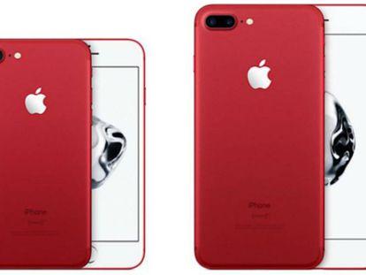 El nuevo iPhone rojo.