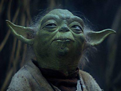 Yoda, uno de los personajes más populares de la saga de 'Star Wars'.