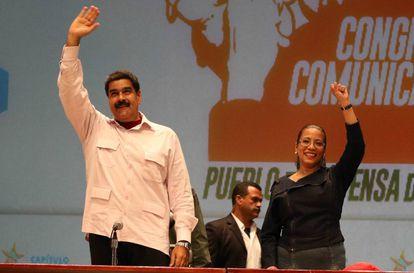 El presidente venezolano, Nicolás Maduro, en un acto en Caracas.