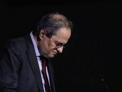 El expresident de la Generalitat, Quim Torra.
