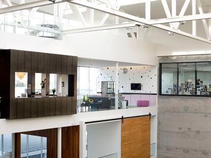 Las oficinas de Arbnb en San Francisco, California.