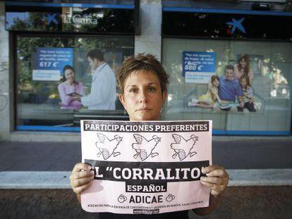 Rosa Ordónez García, afectada por participaciones preferentes.