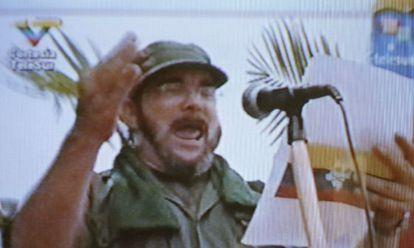 Captura de un vídeo donde aparece el nuevo líder de las FARC.