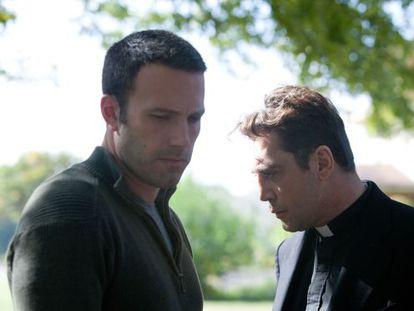 Ben Affleck y Javier Bardem, en 'To the wonder'