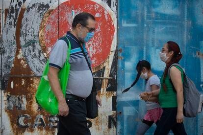 Una de las calles en Ciudad de México, este jueves.