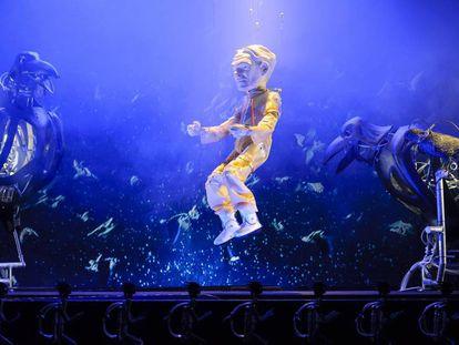 Una imagen del espectáculo 'El somnni de Gulliver'