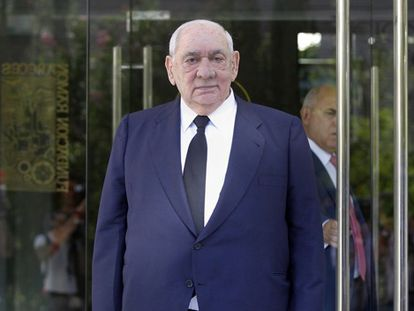 Isidoro Álvarez, en la junta de accionistas del pasado 25 de agosto.
