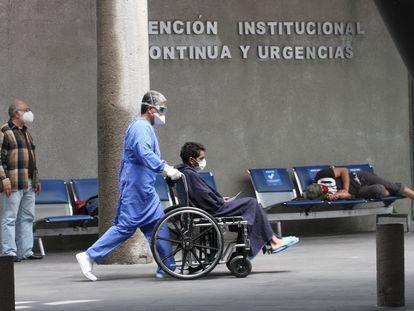 El área de urgencias del Instituto Nacional Salvador Subirán, en Ciudad de México.