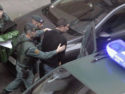 Uno de los detenidos en la operación contra ETA.