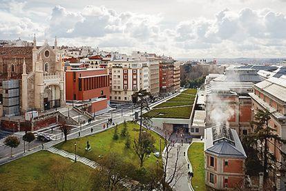 Ampliación del Museo del Prado de Madrid, 2000-2007.