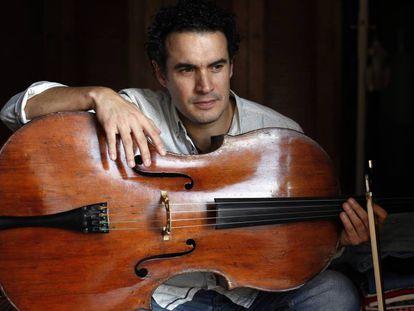 El violoncelista Adolfo Gutierrez.