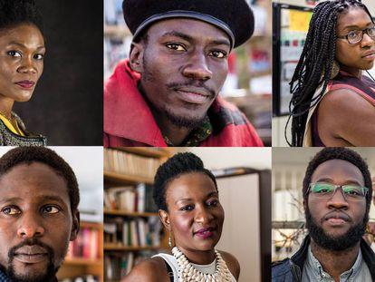 Sonia Mankongo, Mamadou Dia, Leonia N'goma Ruboneka, Ass Ndir, Nicole Ndongala y Moha Gerehou son algunos de los protagonistas de este libro.