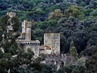 El castillo de Santa Florentina en Canet de Mar.