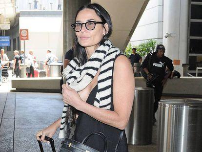 La actriz Demi Moore, esta semana en Los Ángeles.