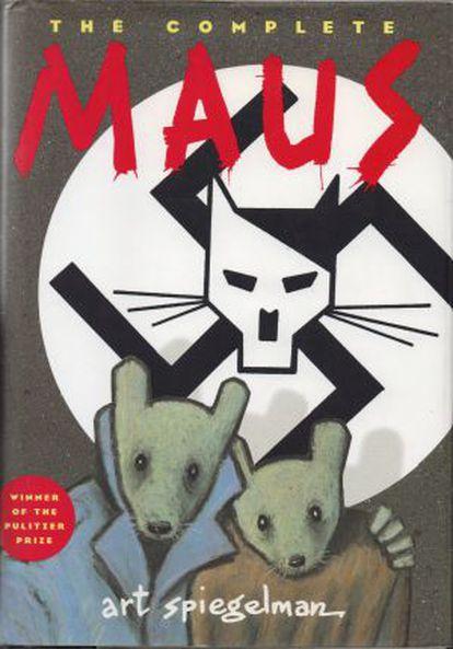 Portada de 'Maus', de Art Spiegelman.