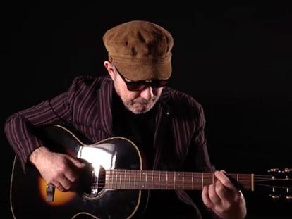 El músico Ernesto González.