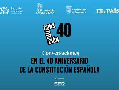 Señal en directo del evento en Salamanca sobre el 40 Aniversario de la Constitución.