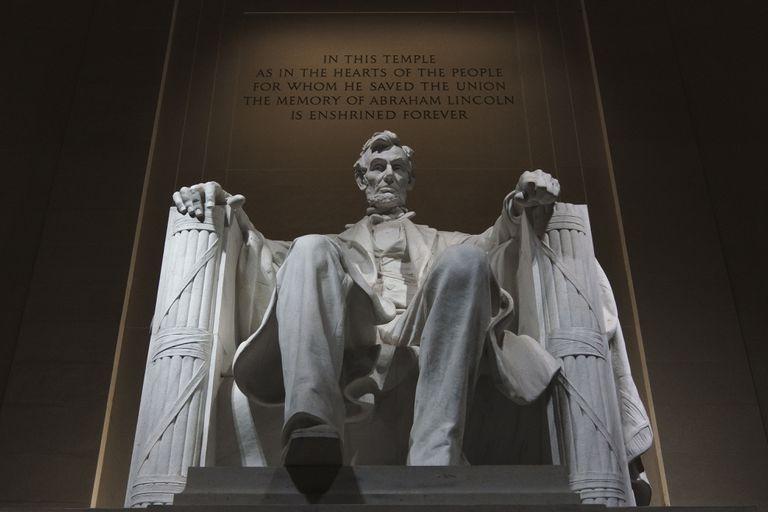Monumento a Abraham Lincoln en Washington.
