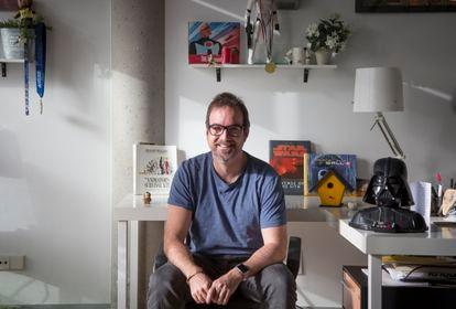 Carlos Gómez-Mira, director del cortometraje de animación 'Vuela', en Thinkwild Studios de Las Rozas.