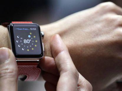El Apple Watch Series 2.