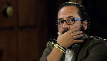 Álvaro Pérez, El Bigotes, durante el juicio.