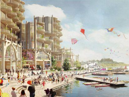 ¿Brillante o aterradora? Así es la ciudad del futuro que Google está construyendo en Toronto