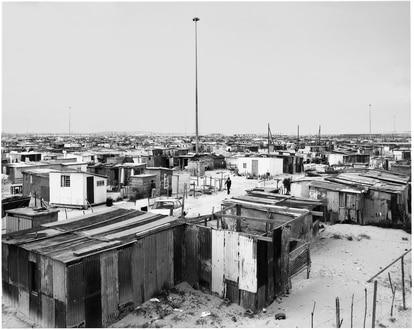 Photograph of Cape Town (South Africa) taken by David Goldblatt in 1987.