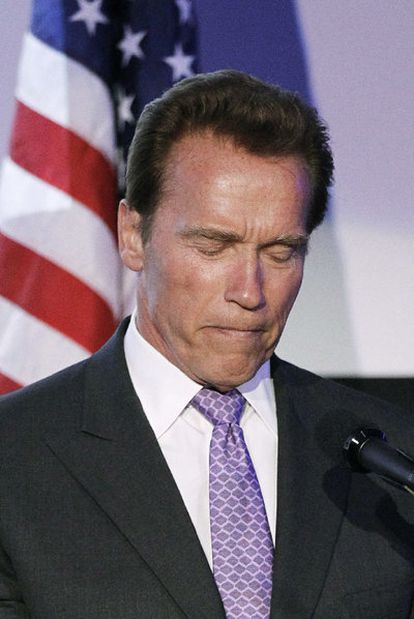 Schwarzenegger, el día 10.