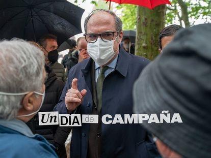 Ángel Gabilondo, en un acto en Alcalá de Henares.