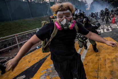 La agencia Reuters ha ganado el premio Pulitzer de Fotografía de última hora por sus imágenes de las protestas de Hong Kong.