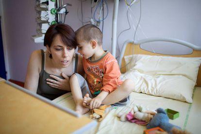 Pediatria oncológica del Hospital de Garches (Francia).