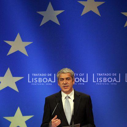 El primer ministro portugués, José Sócrates, el pasado 1 de diciembre en Lisboa.