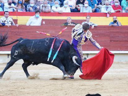 El Juli, en la corrida en la Feria de Castellón.