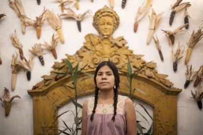 Retrato de Aida Mulato Salinas, victima de abuso sexual, Colonia Roma CDMX