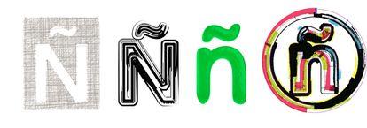 Letras Ñ