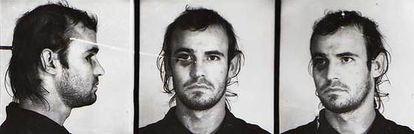 Una antigua ficha policial con el rostro de Rafael Bueno Latorre