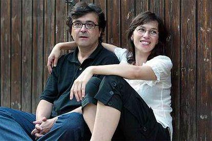 Ariadna Gil y Javier Cercas en Rupiá, Girona.