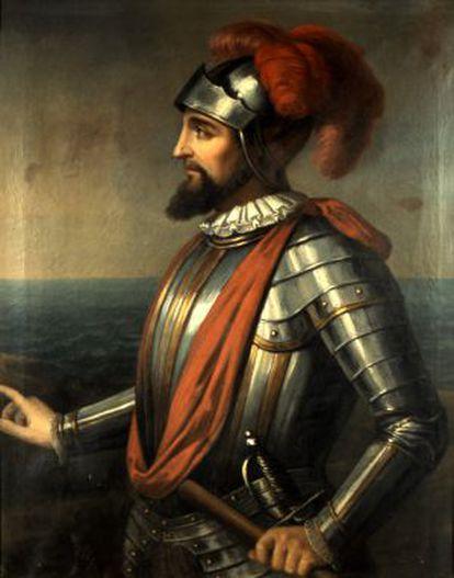 Retrato de Vasco Núñez de Balboa