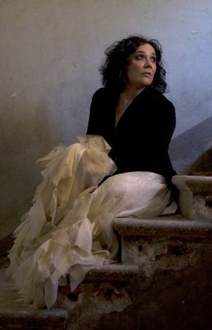 La cantant Esther Condal.