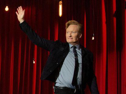 Conan O'Brien, en su último programa.