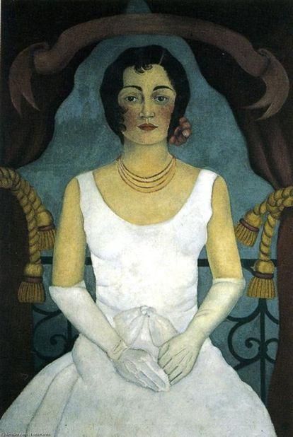 Retrato de Guadalupe Marín por Frida Kahlo.