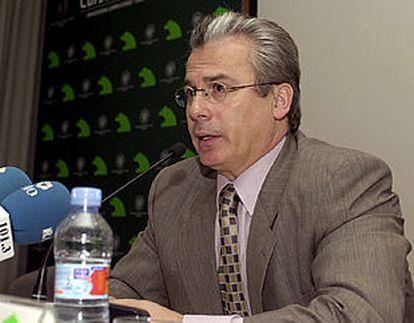 Garzón, en la clausura de unas jornadas sobre la Corte Penal Internacional.