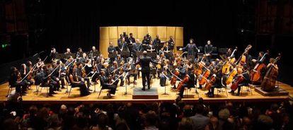 La Chineke! Orchestra en acción. (Cortesía de Chi-chi Nwanoku)