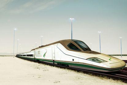 Prototipo del tren que el consorcio español ha ofertado a las autoridades de Arabia Saudí.